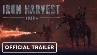 Iron Harvest oficjalny trailer gry