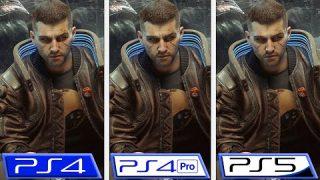 Cyberpunk 2077 porównanie działania na PS4 – PS4 Pro – PS5